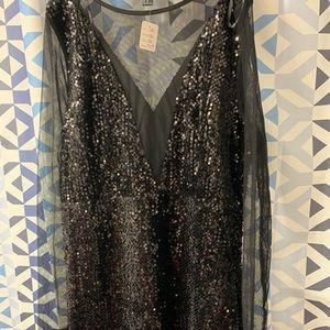Sequin time dress